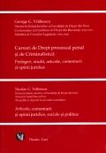 Mai multe detalii despre Cursuri de Drept procesual penal si de Criminalistica. Prelegeri, studii, articole, comentarii si opinii juridice. Articole, comentarii si opinii juridice, sociale si politice ...